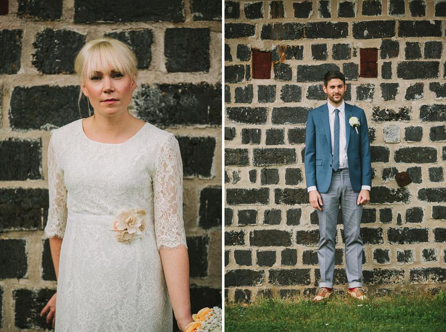 Bröllopsfotograf Västerås Brud Brudgum Porträtt
