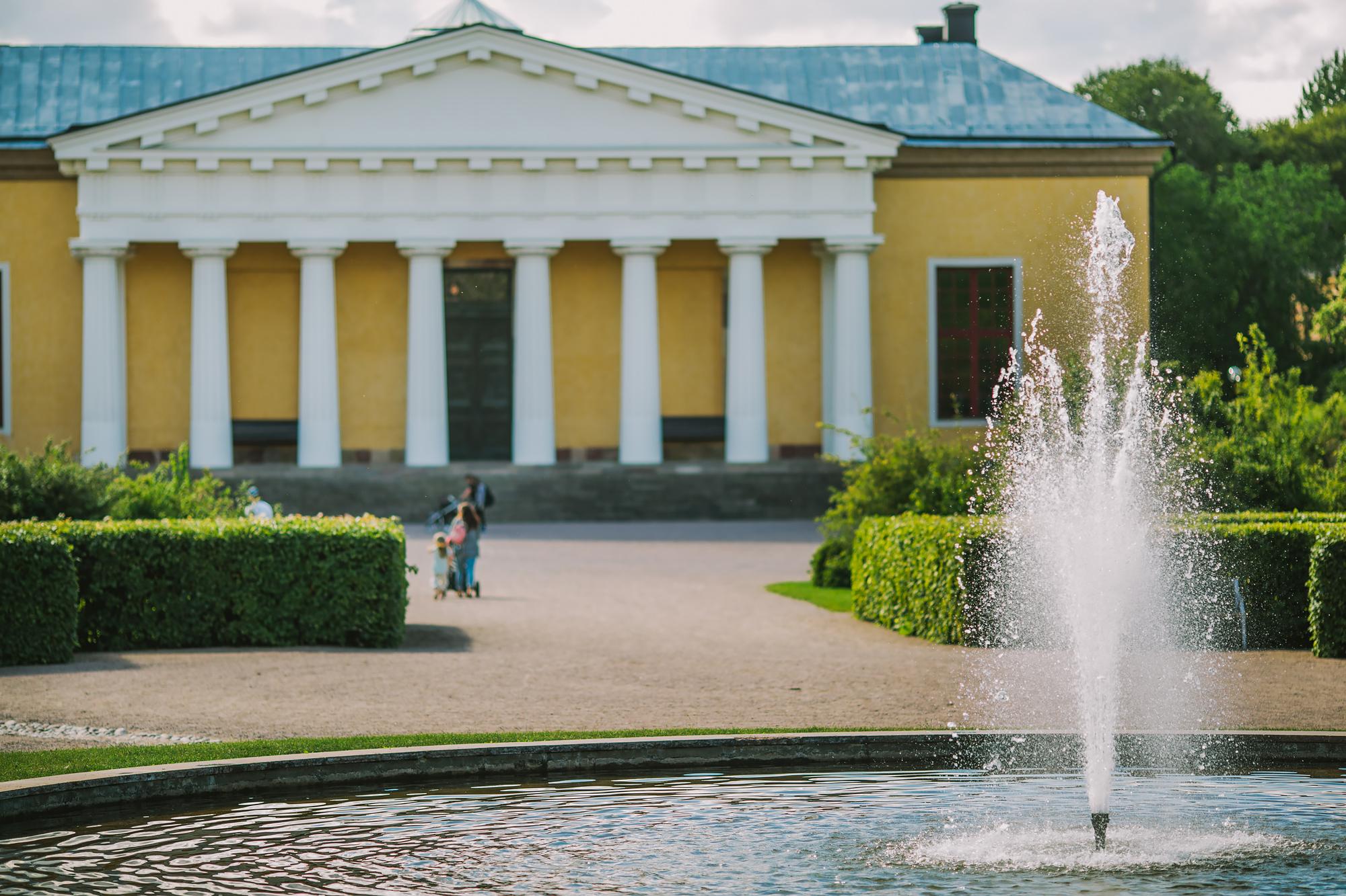 Slottsparken Uppsala