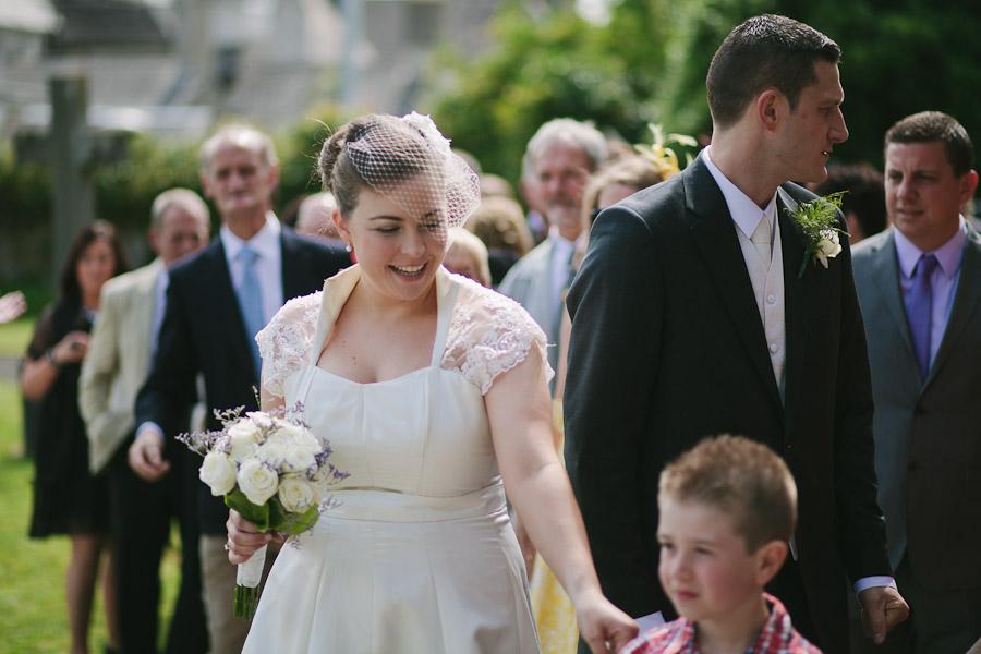 Bride with nephew