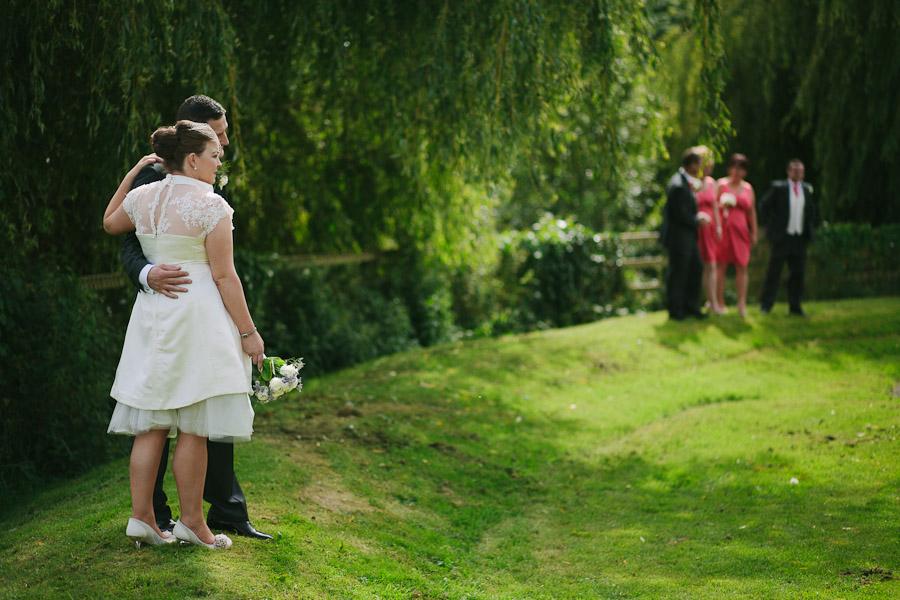 Kilkenny Wedding: Bride and groom portraits