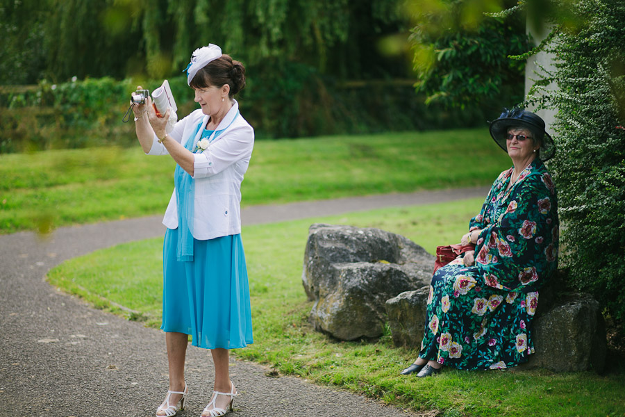 Langtons Kilkenny Wedding: Mother and aunt waiting