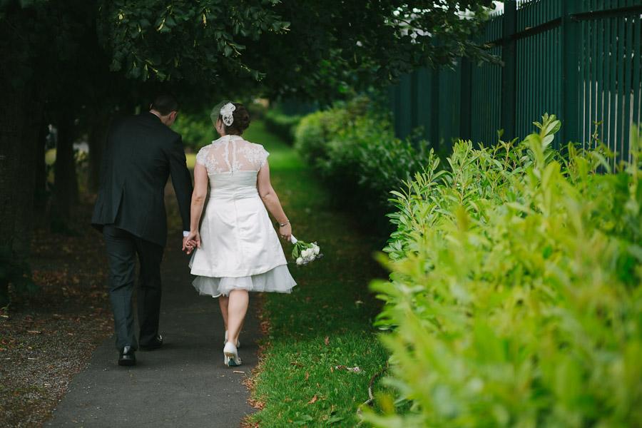 Kilkenny Wedding: Walking back