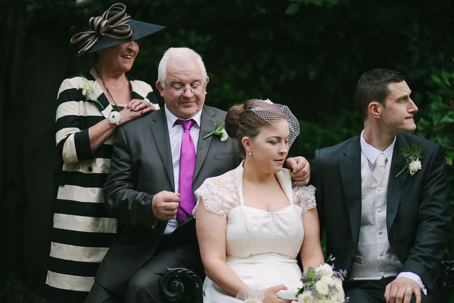 Langtons Hotel Wedding: Family of the bride