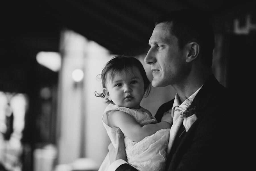 Kilkenny Wedding: Groom with daughter