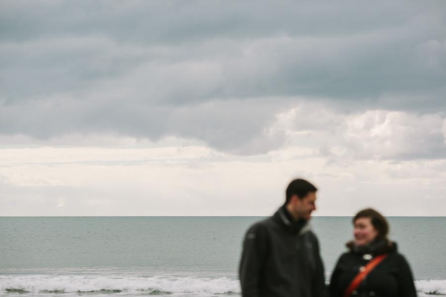 The ocean off the Irish coast