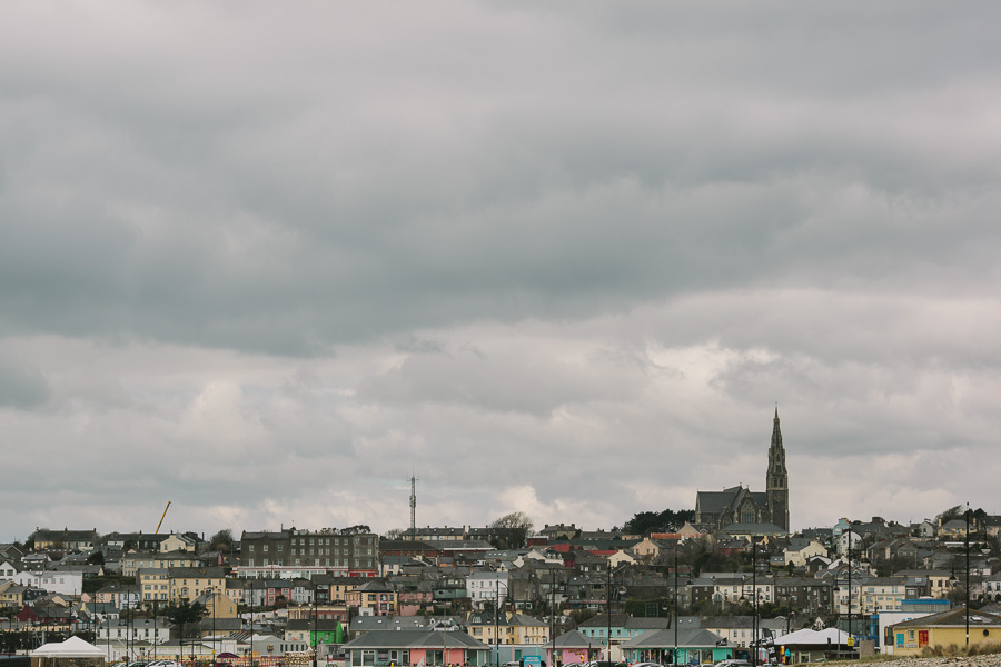 Tramore Wedding Photographer skyline over the town