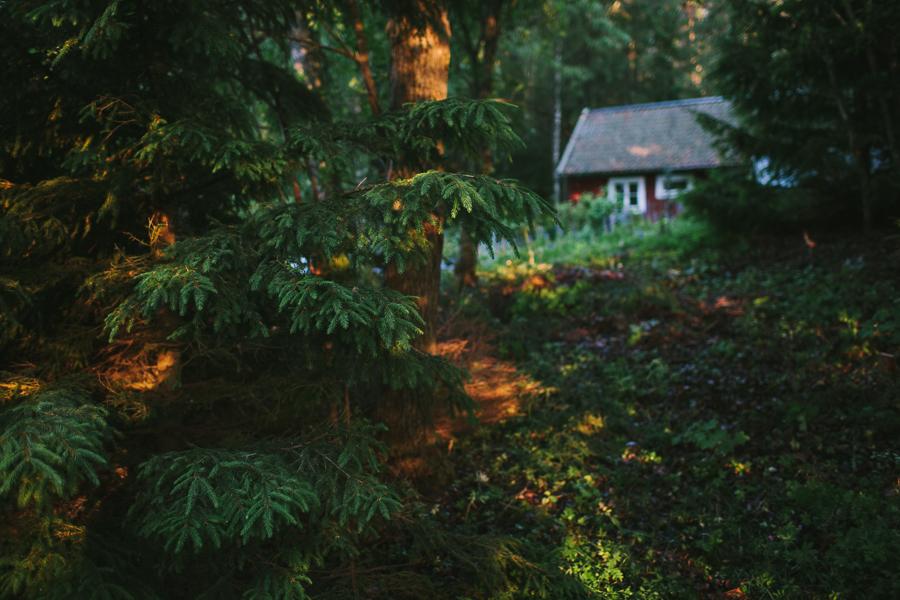 Torp i skogen Kärrbo Madeleine Mattias