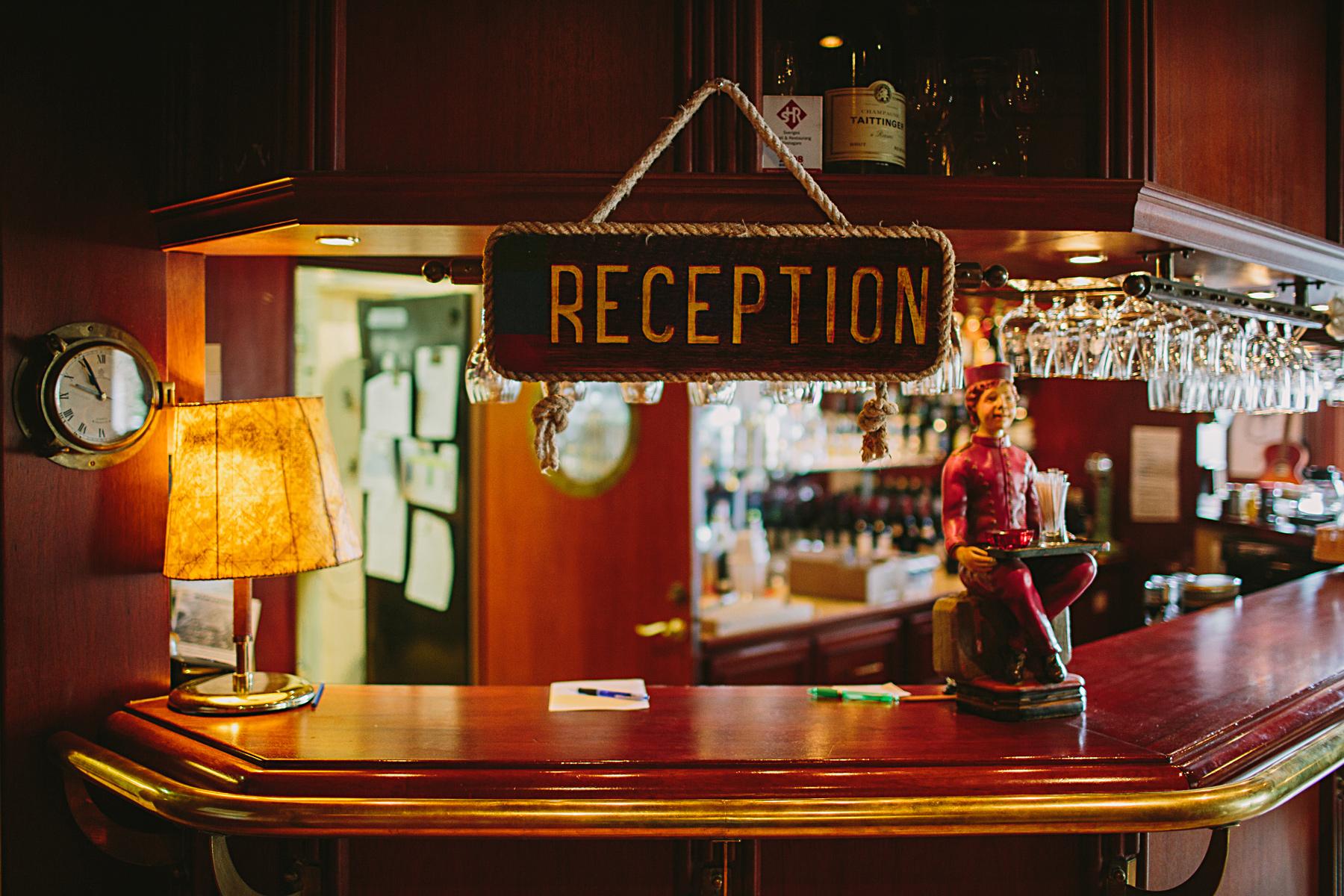 reception hotellet