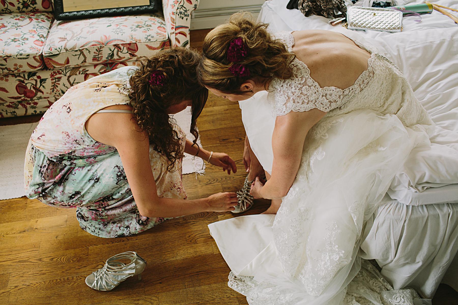 bruden fr hj lpmed skorna frn tamaris