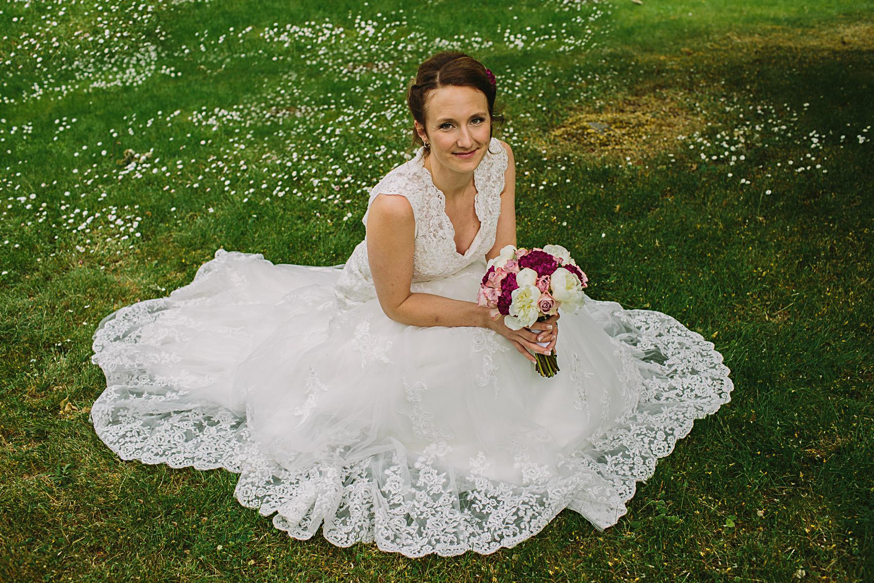 porträtt p bruden