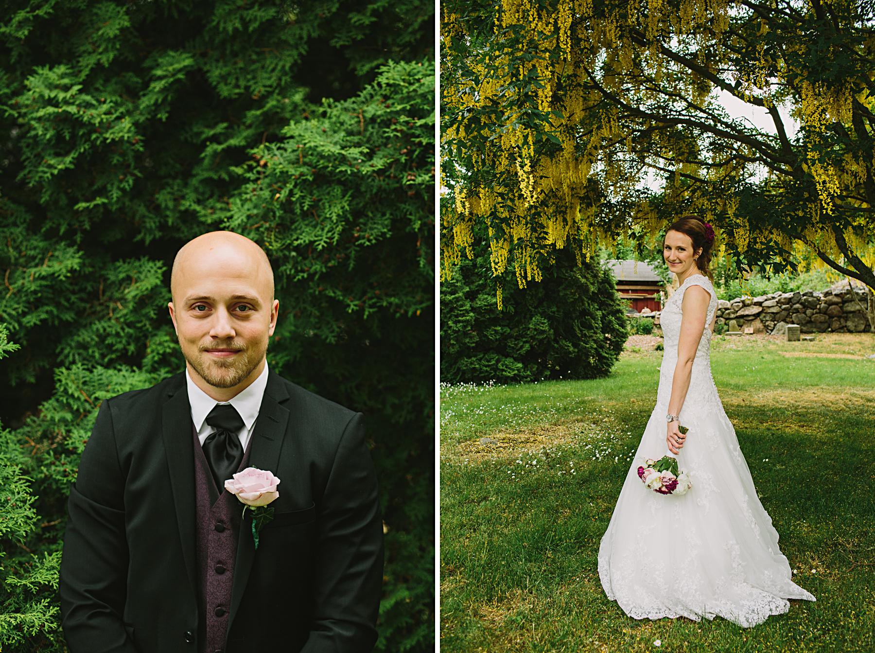 skärgårdsbröllop dalarö bröllopsporträtt