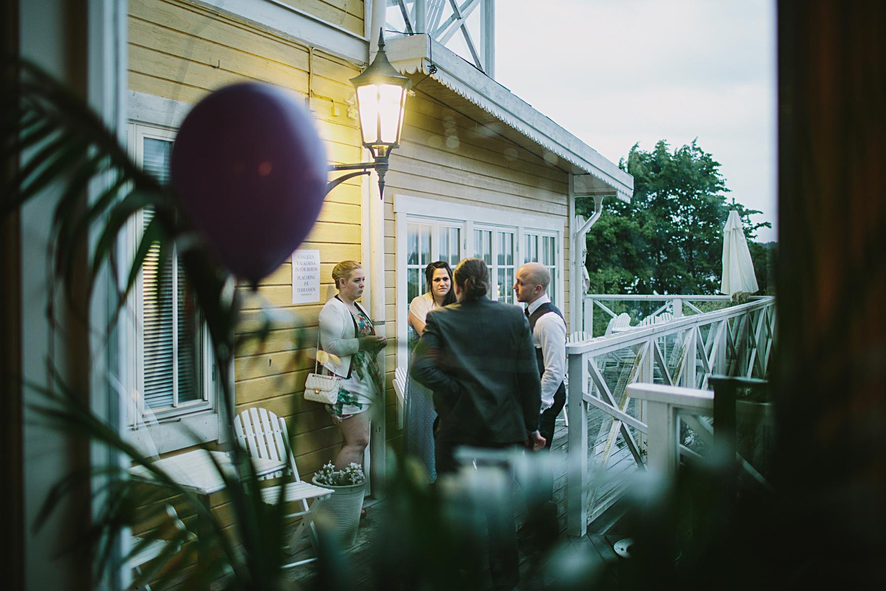 gäster tar en paus