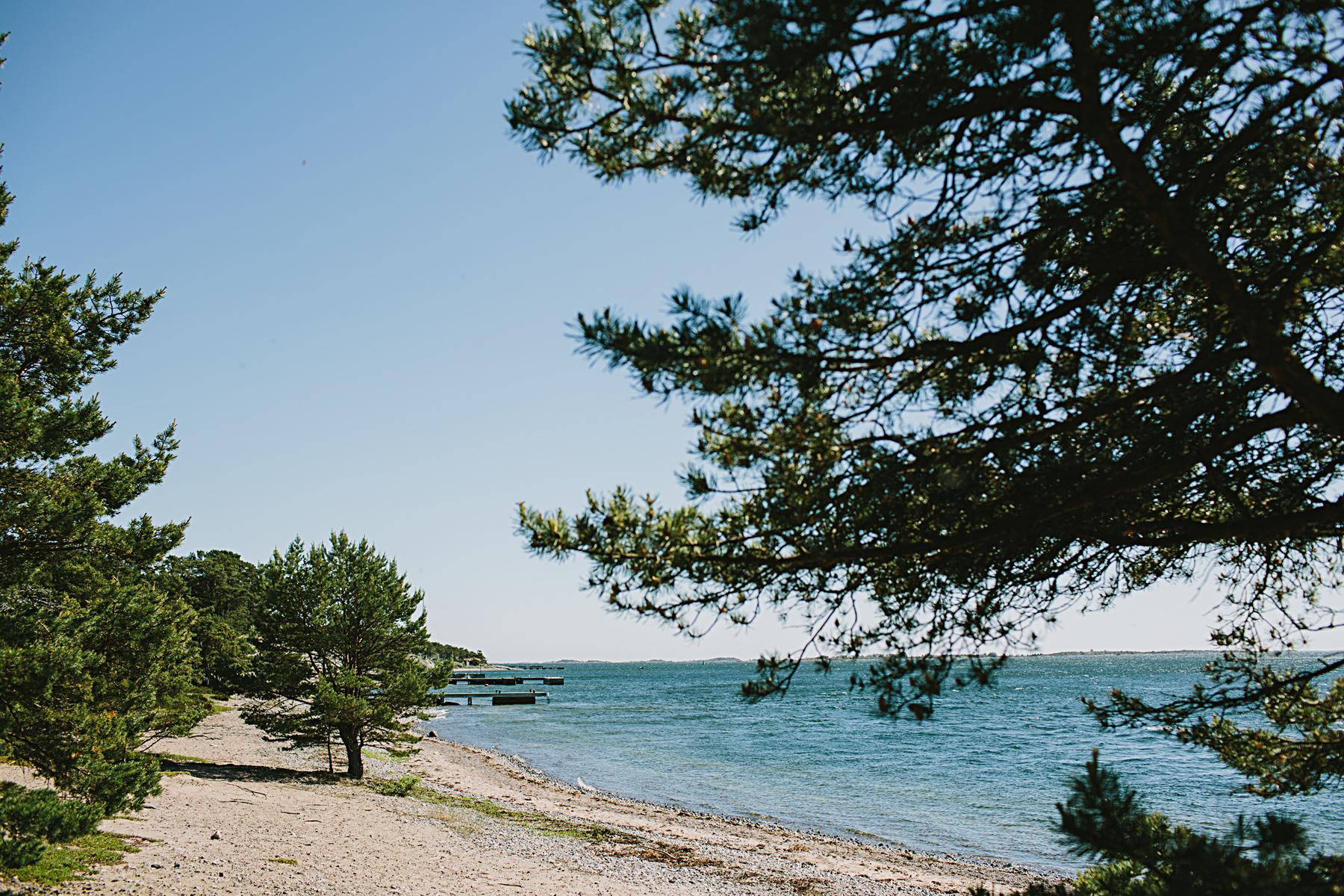 stranden p sandhamn