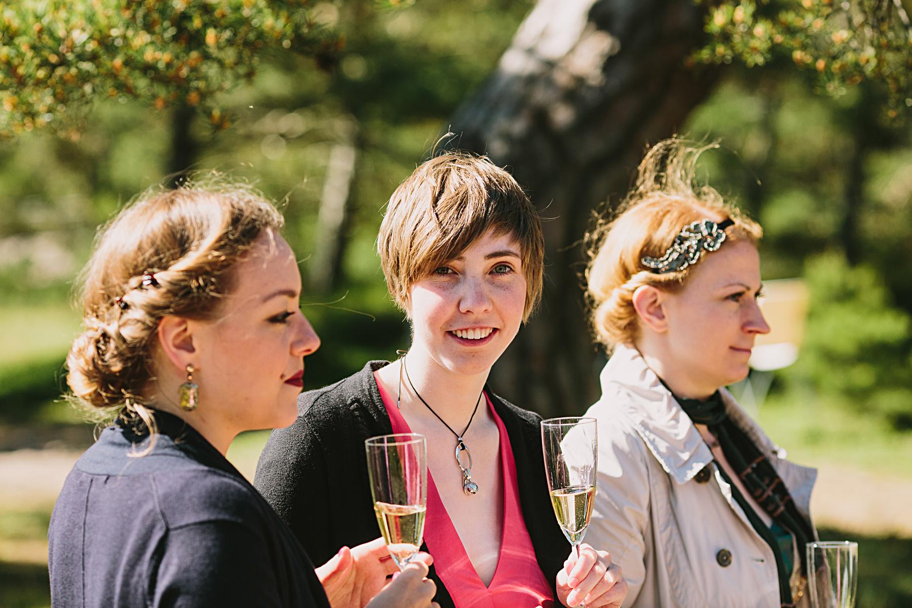 gäster p bröllop