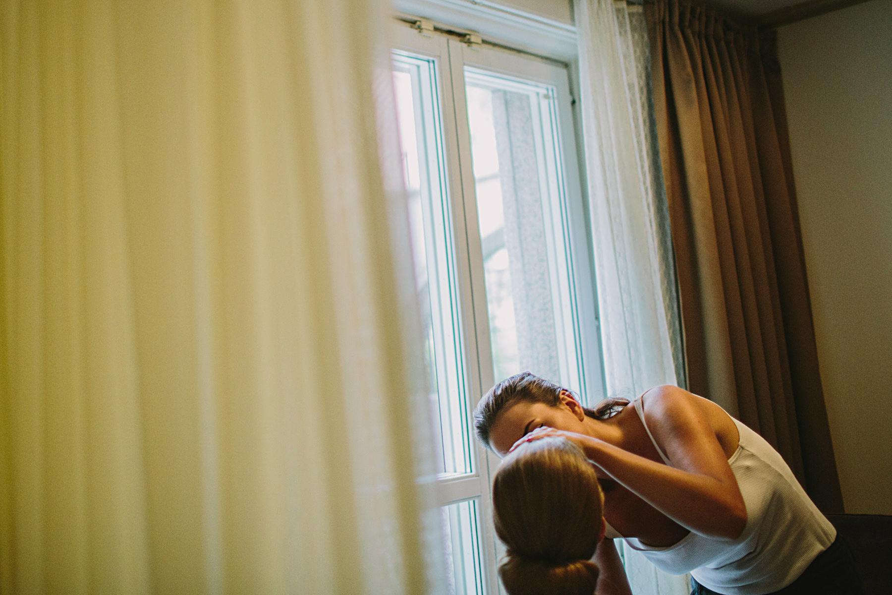 sminkning av bruden