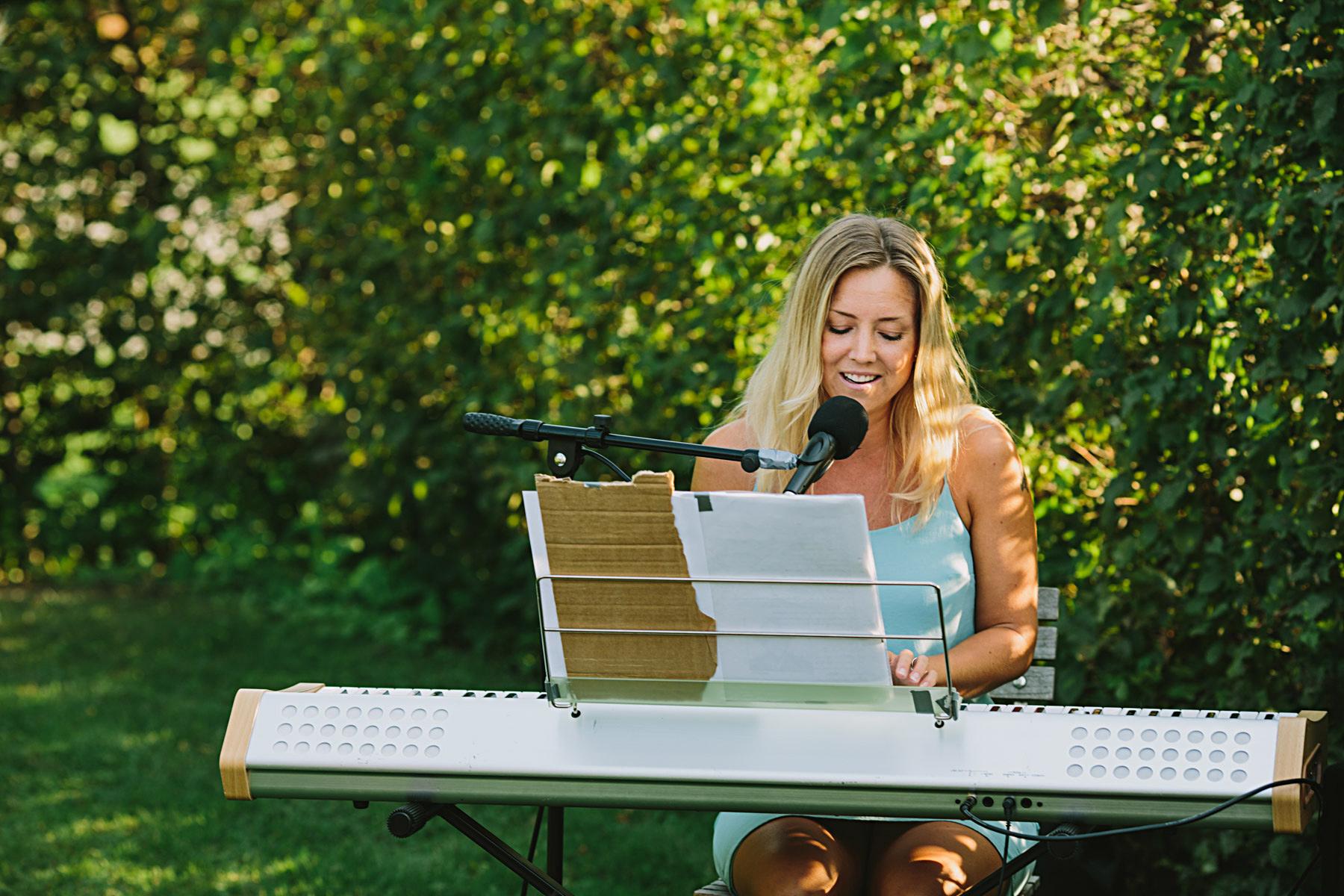 sång i rosendals trädgård