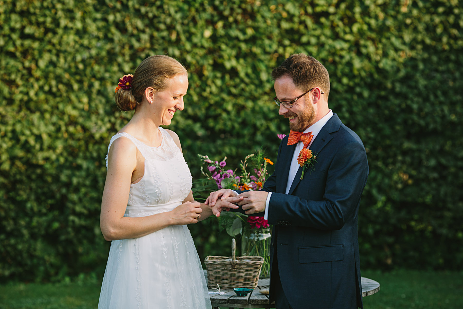 bruden får sin ring