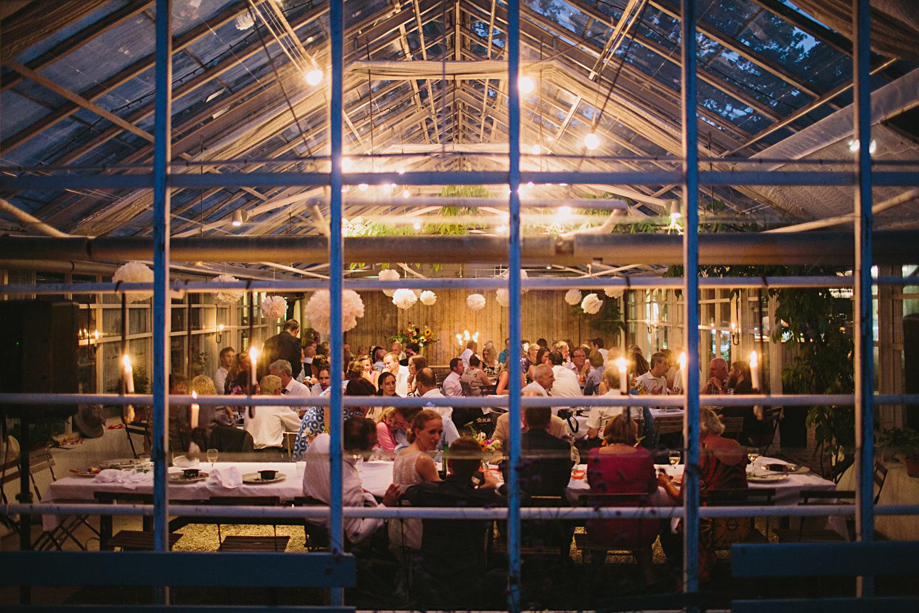 fest i växthuset rosendal