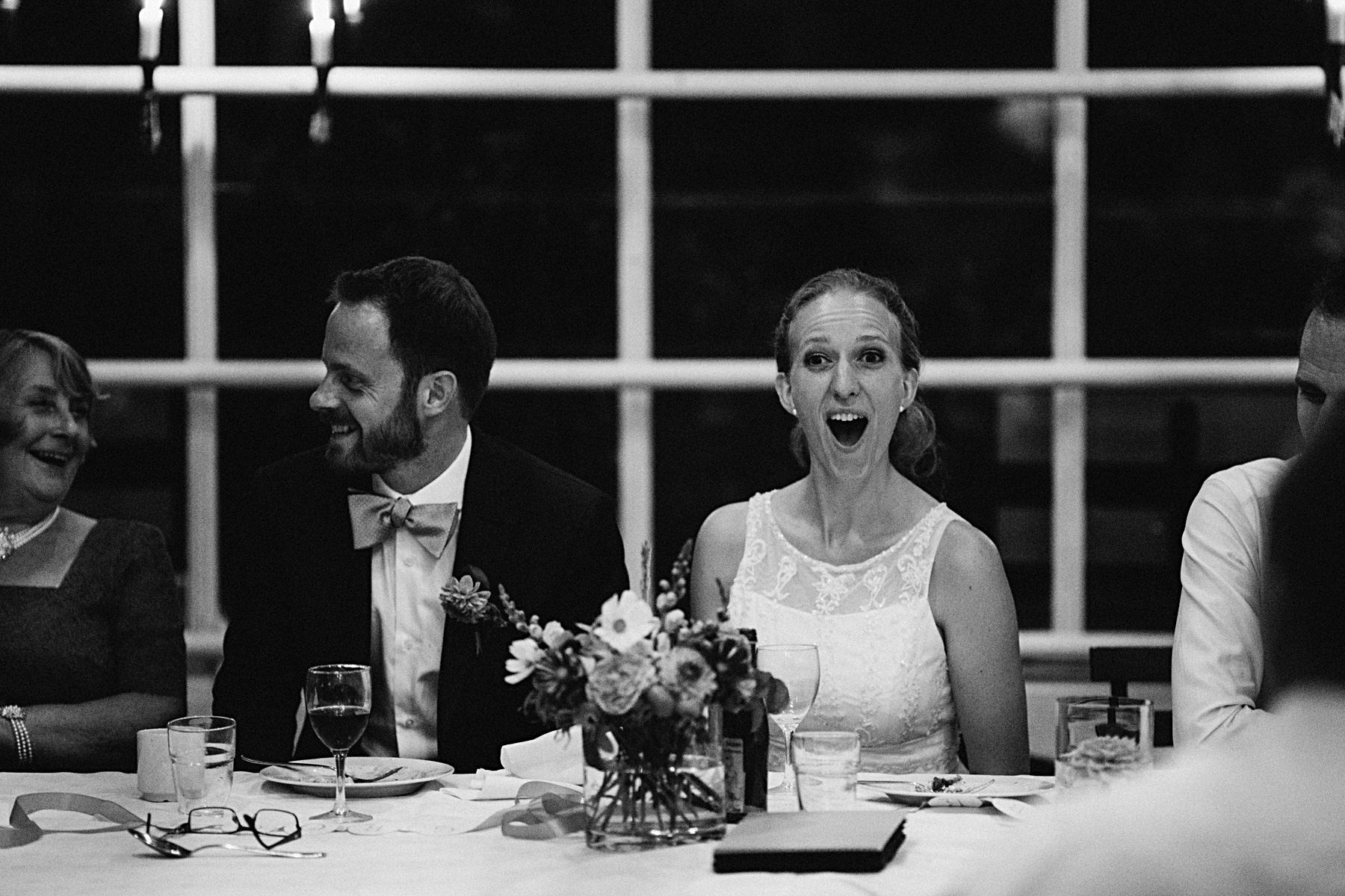 förvånad brud