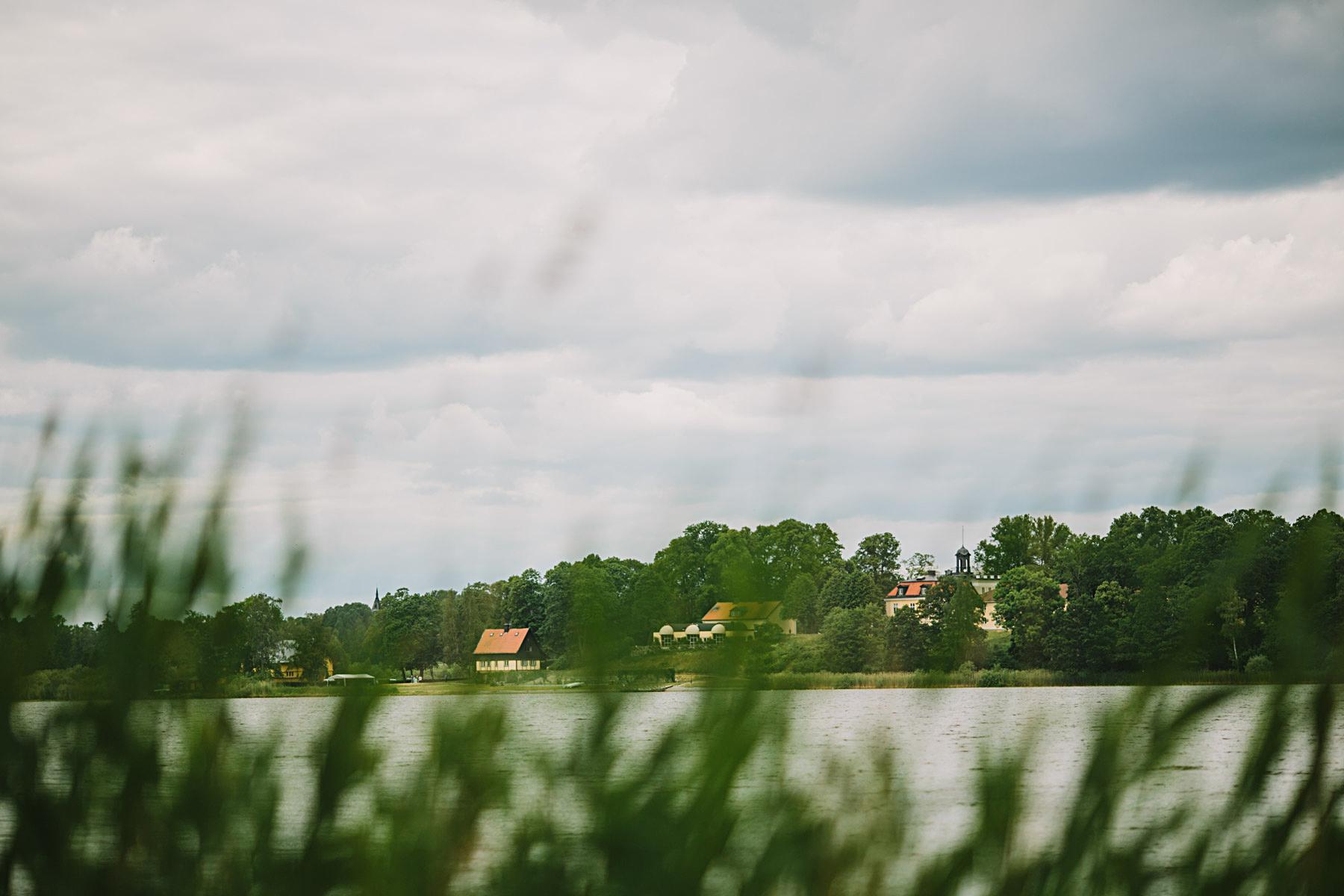 utsikt över frösjön