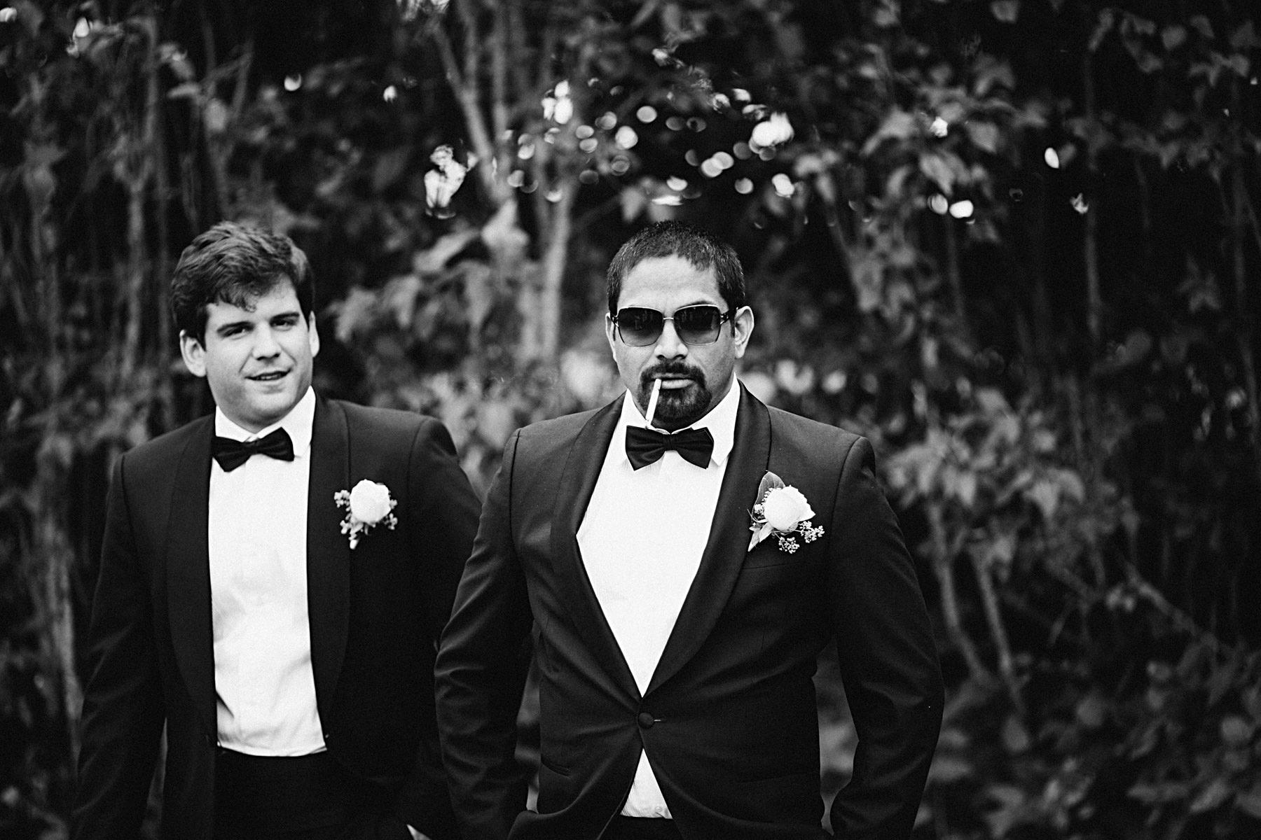 Coolaste marskalken av dem alla på hela bröllopet