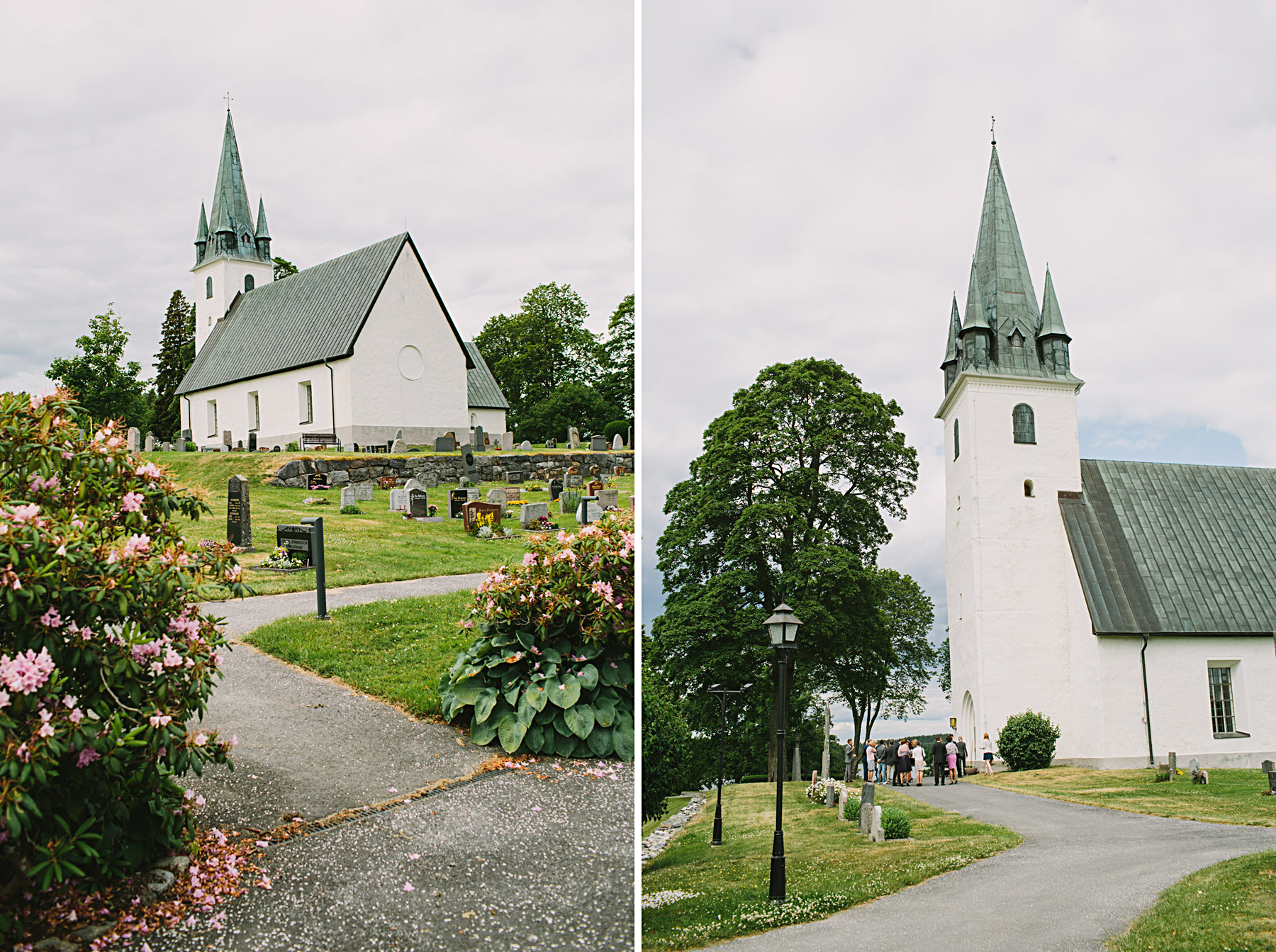 Bröllop i Frustuna Kyrka