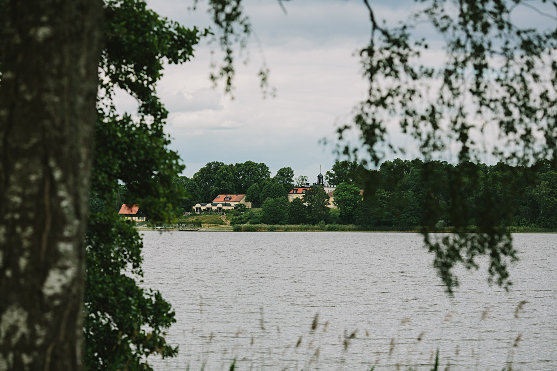 Södertuna Slott över Frösjön