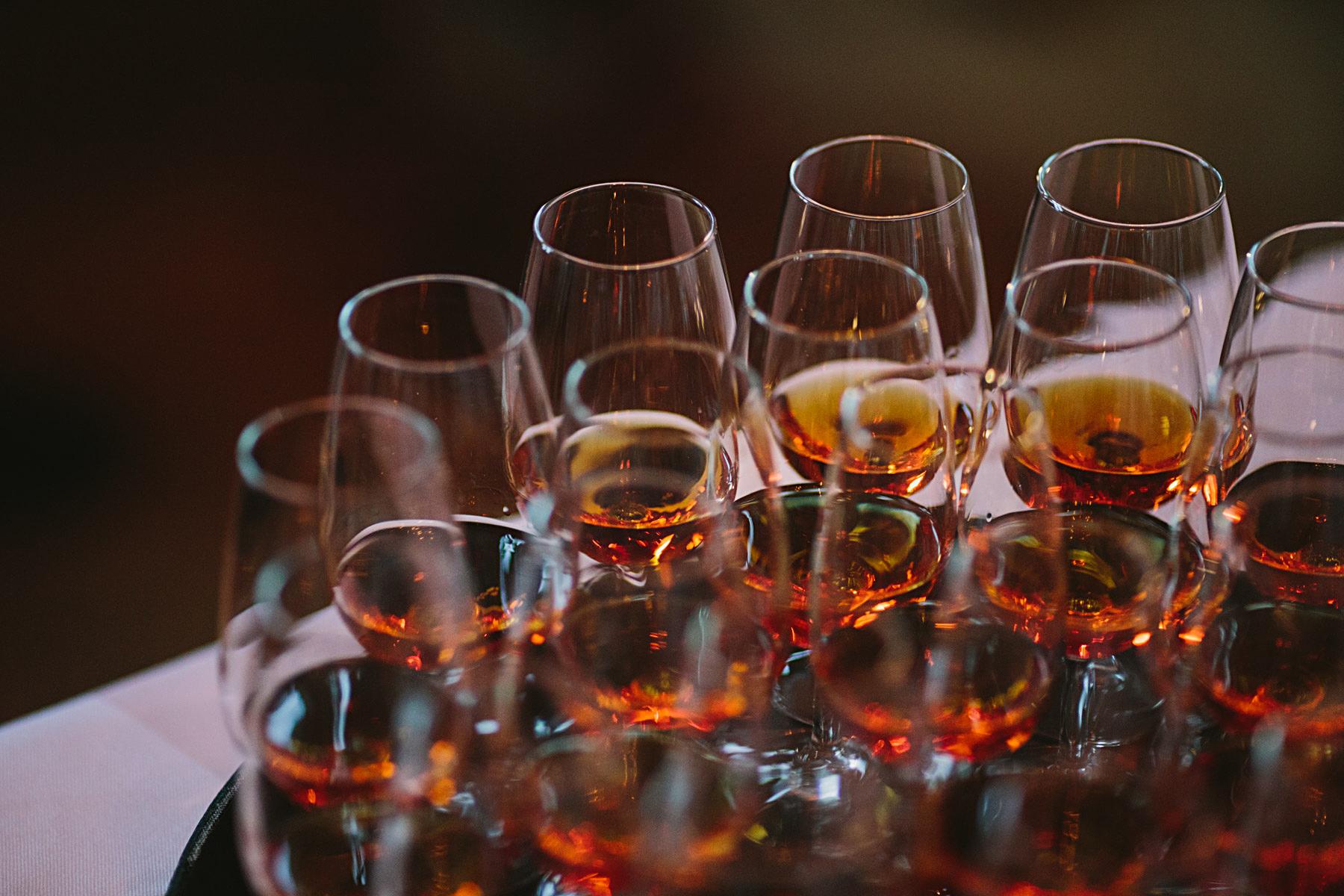 Hennessy Cognac som avec på bröllop