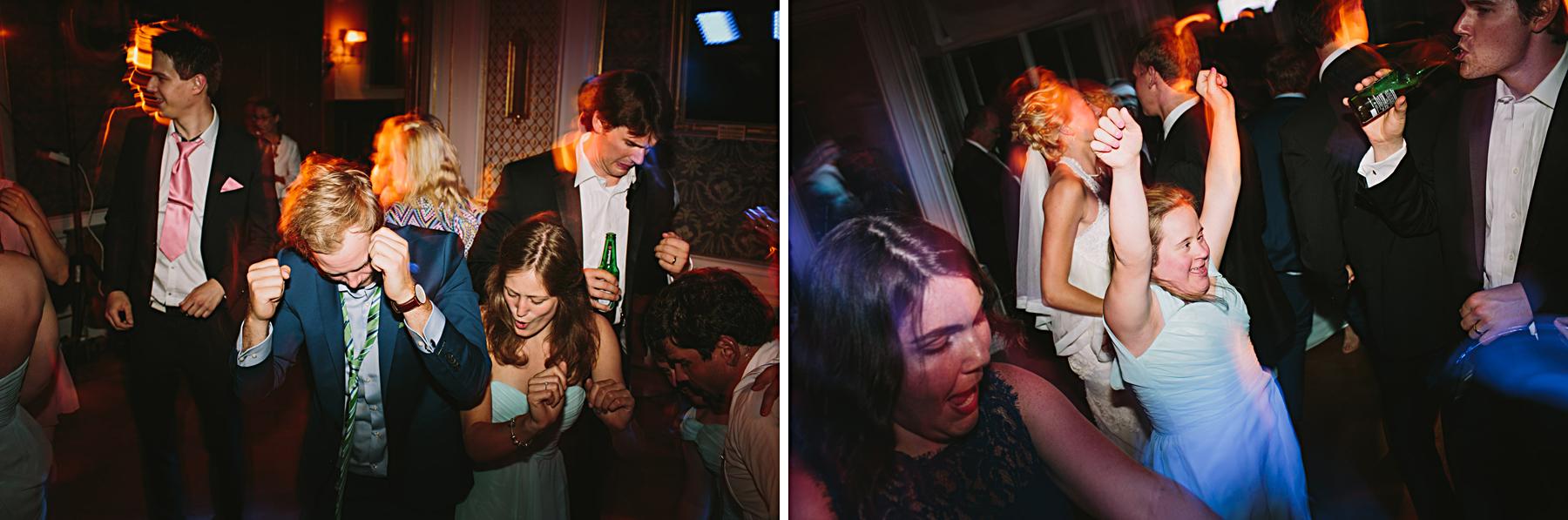 Toppenfest på bröllop