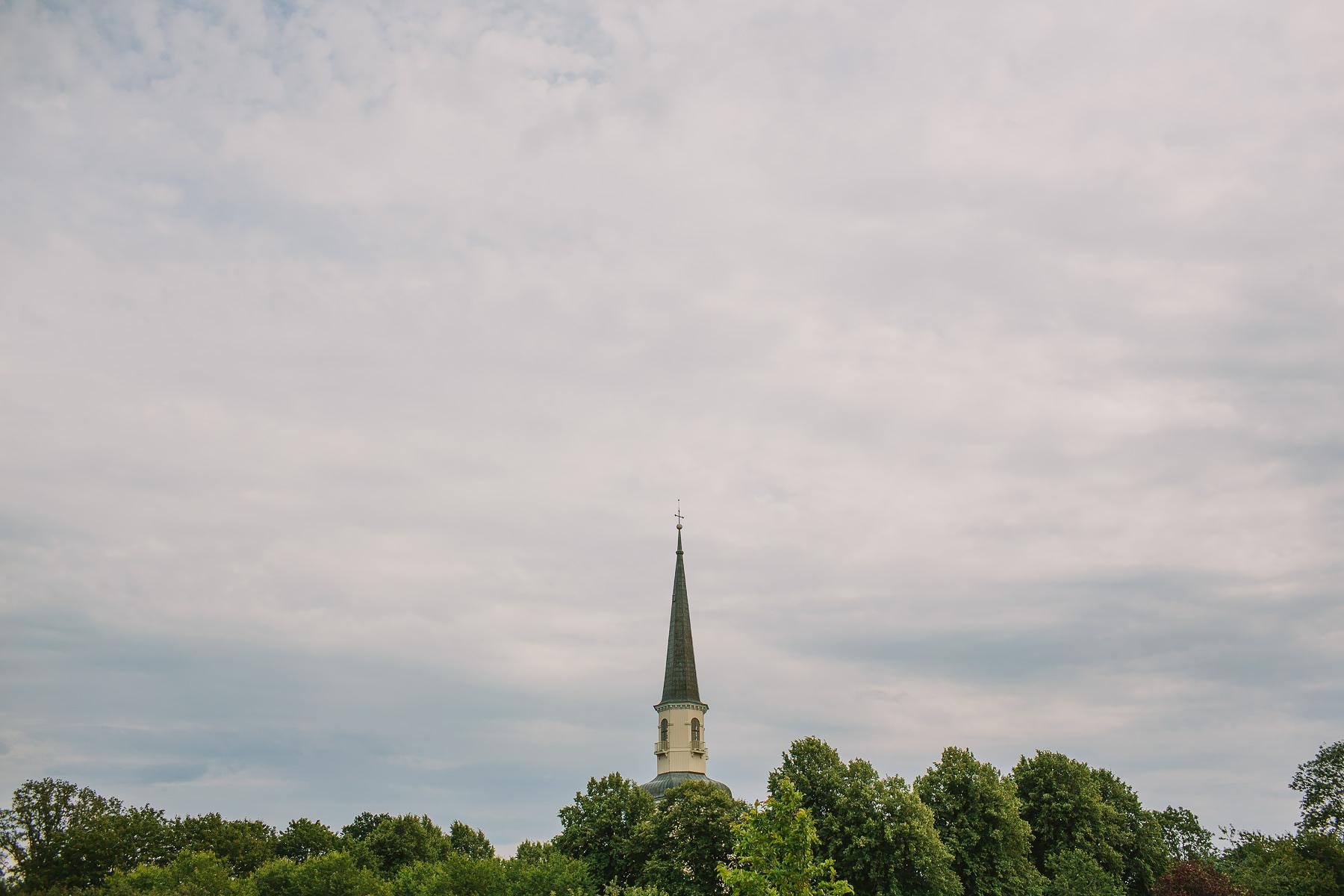 Tornet på ekerö kyrka