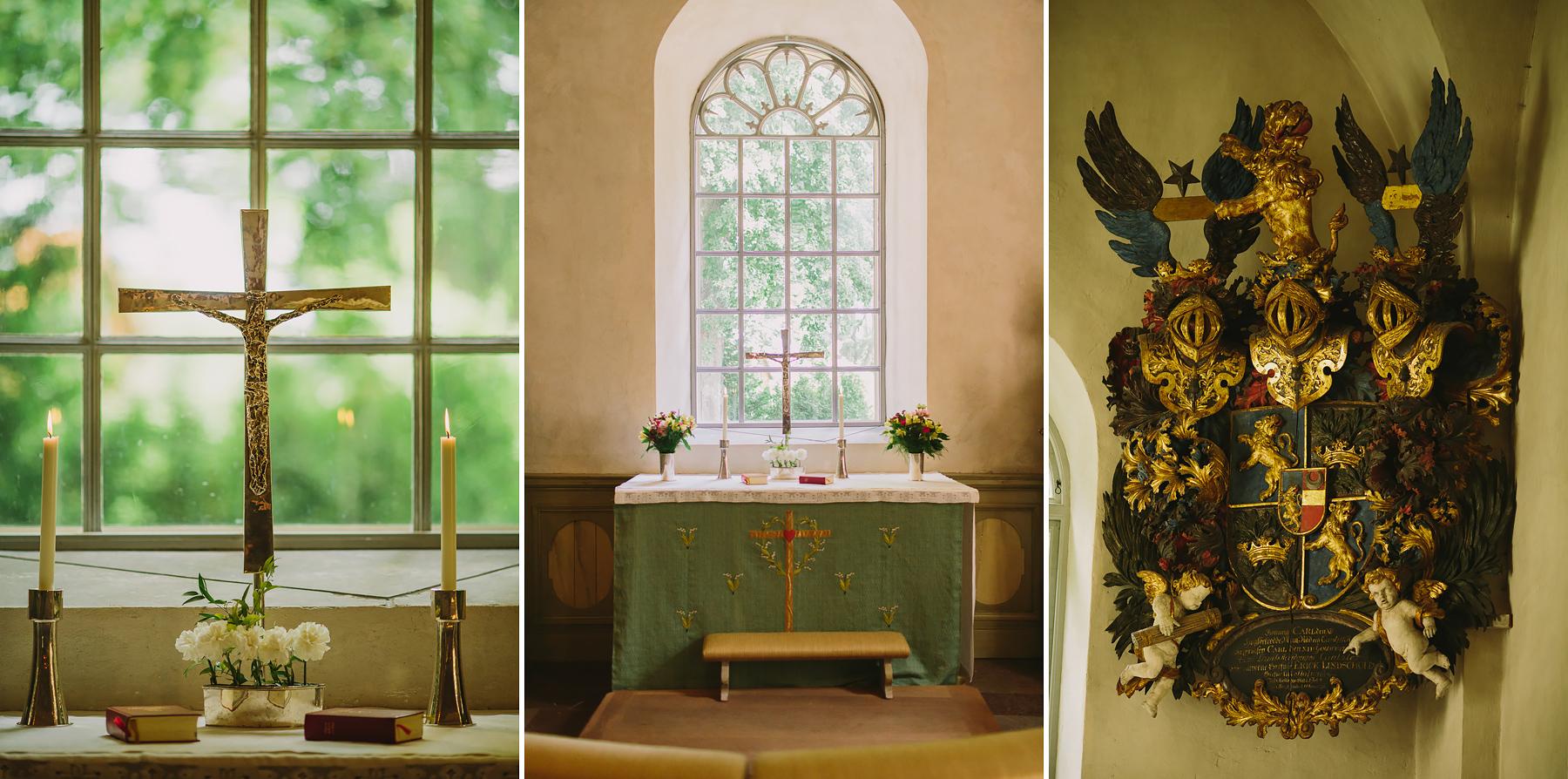 altaret i ekerö kyrka
