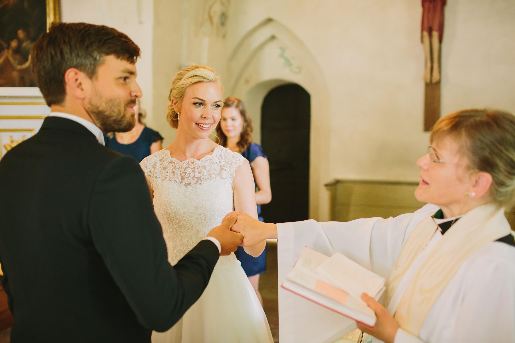 Välsignelse under bröllop