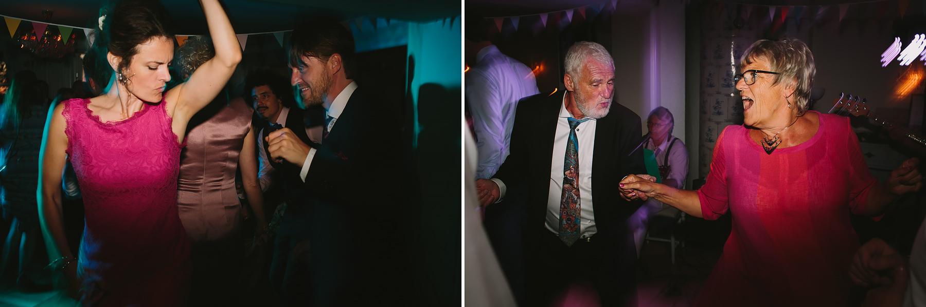 Gästerna dansar
