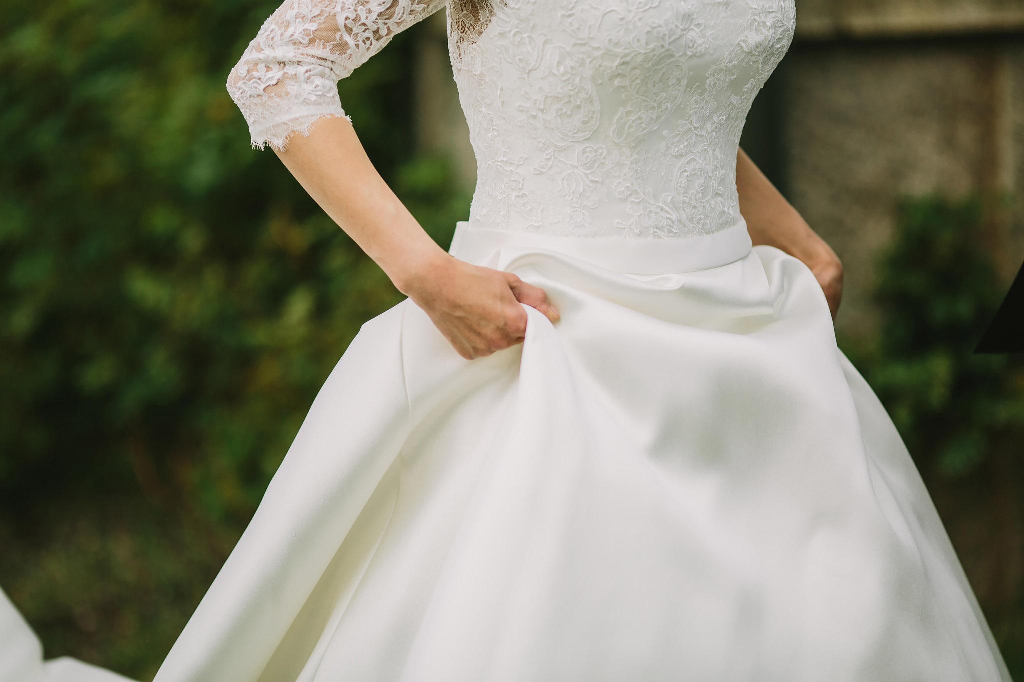 Brudens klänning