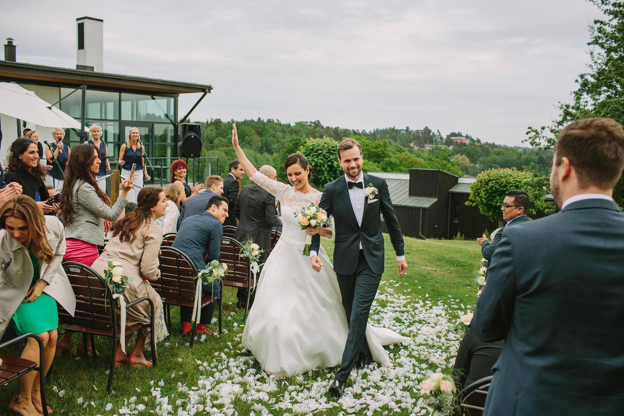 Dag & Tina är gifta!