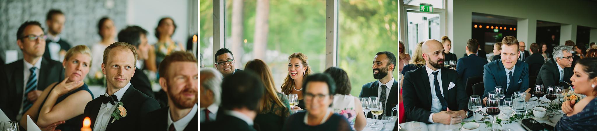 Tal under bröllopsmiddag