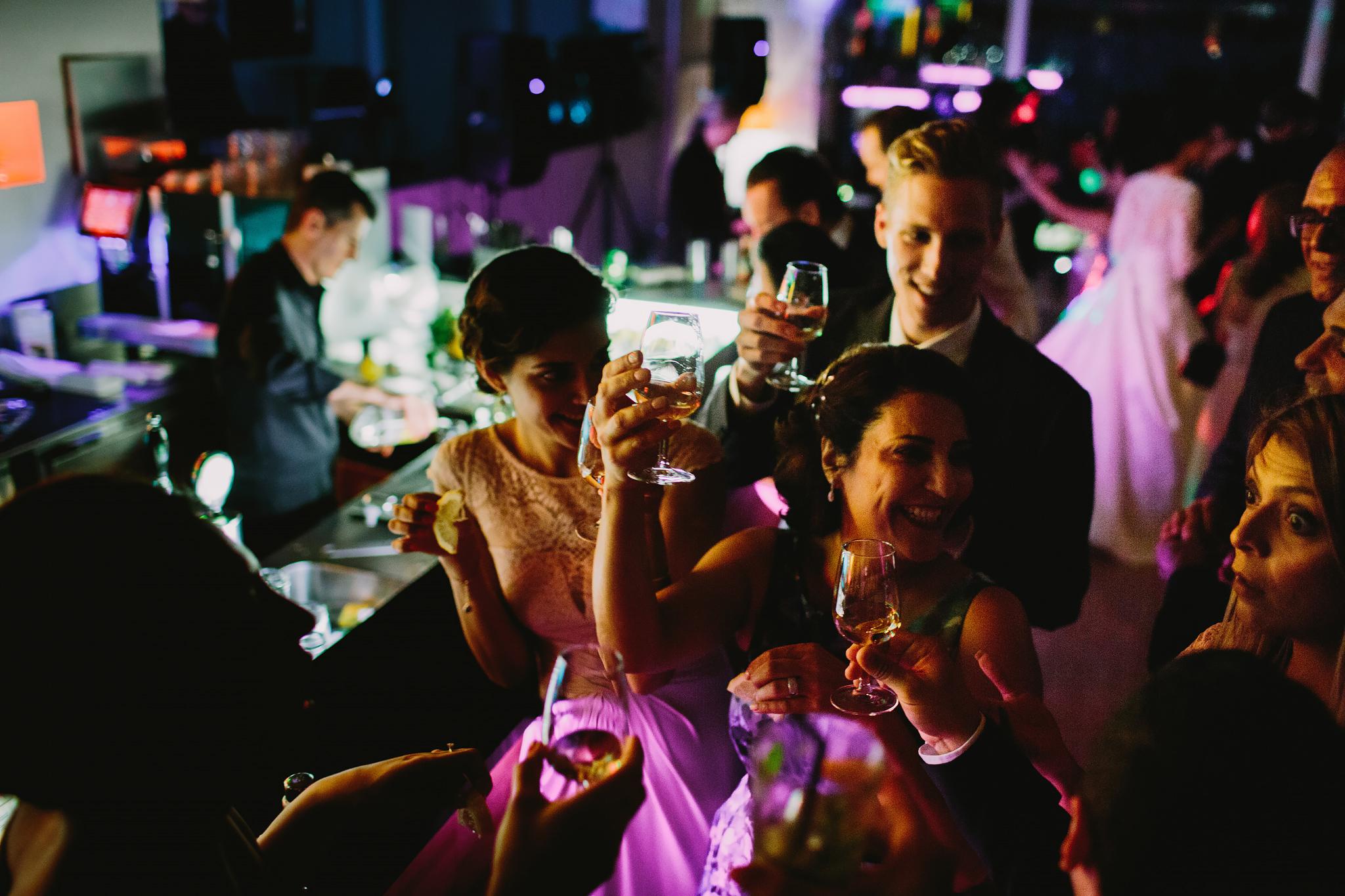 tequila race på bröllop