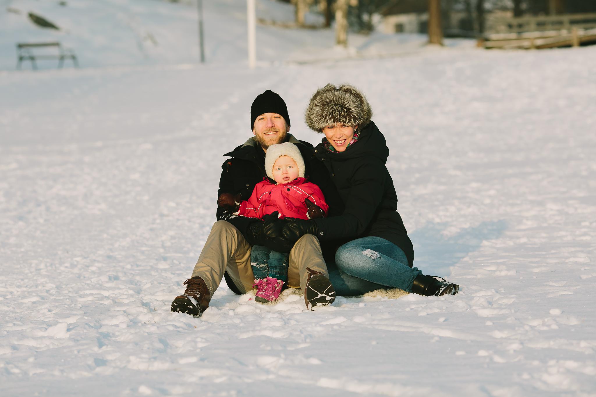 Vinterfotografering Västerås