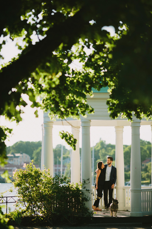Bröllopsfotograf Stockholm Lusthuset vid Waldemarsudde