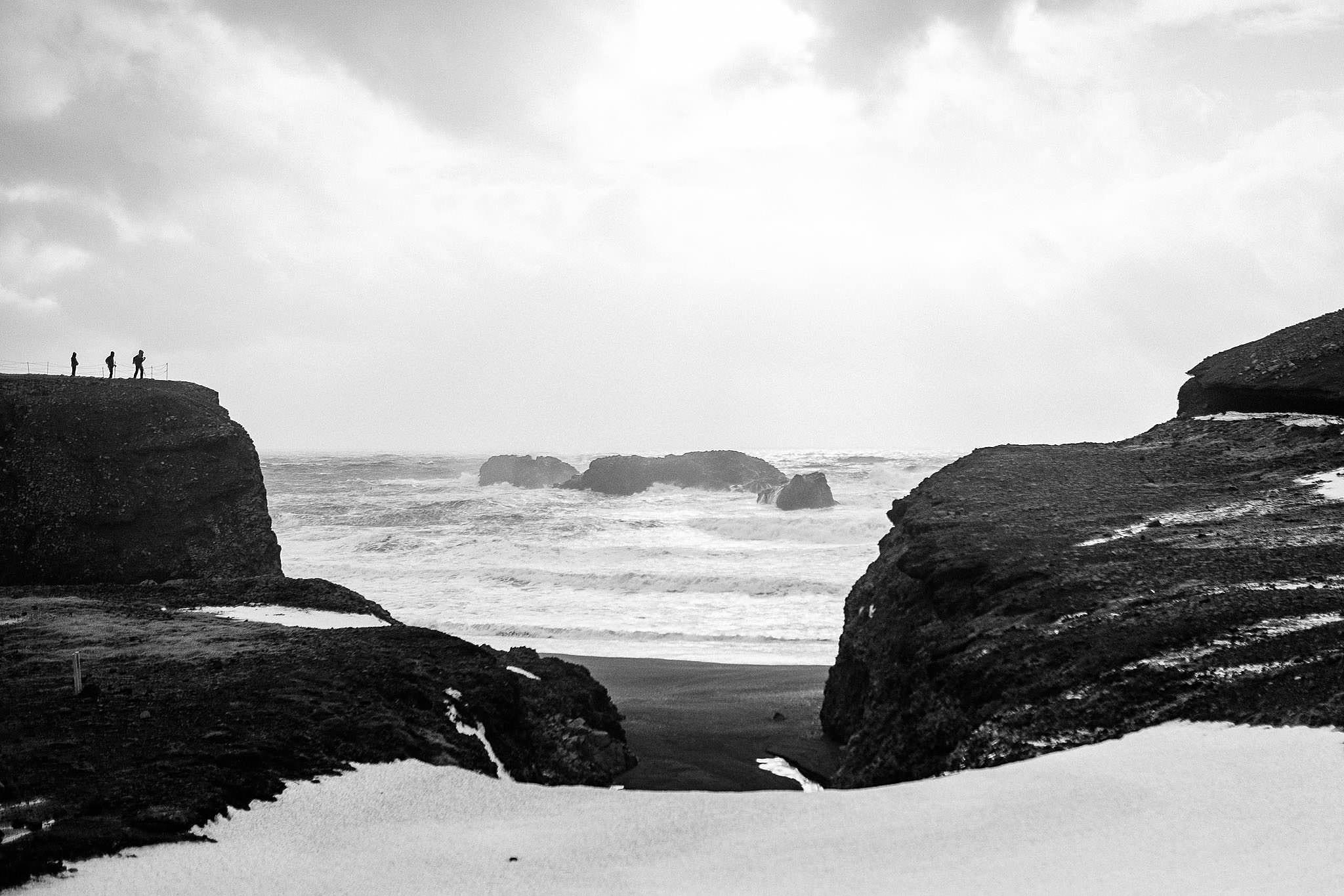 Klippor på Island